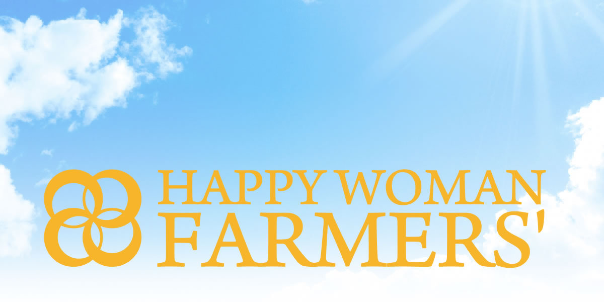HAPPY WOMAN FARMERS'