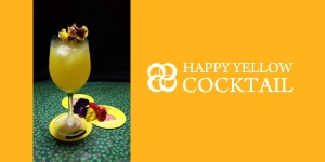 HAPPY YELLOW COCKTAIL