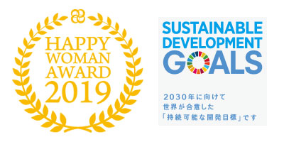 HAPPY WOMAN AWARD 2019 for SDGs