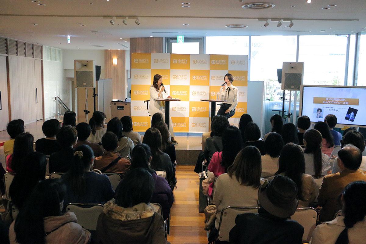 【開催レポート】銀座三越初開催!HAPPY WOMAN FESTA GINZA 2019