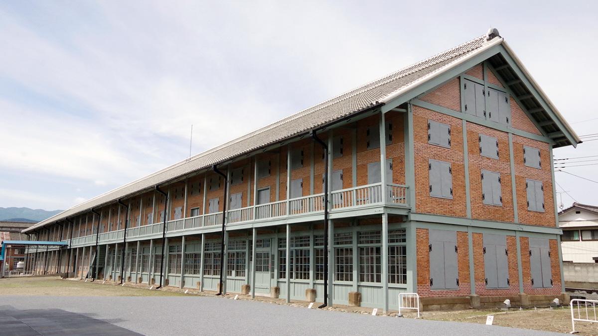 旧富岡製糸場西置繭所